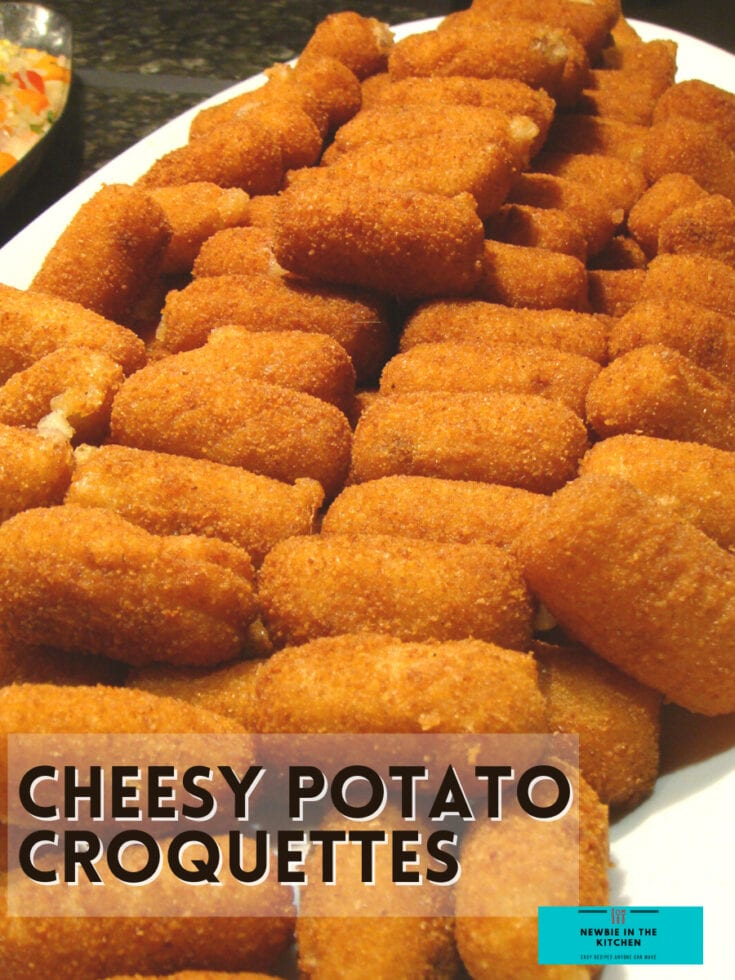 Bacon and Cheese Potato Croquettes H