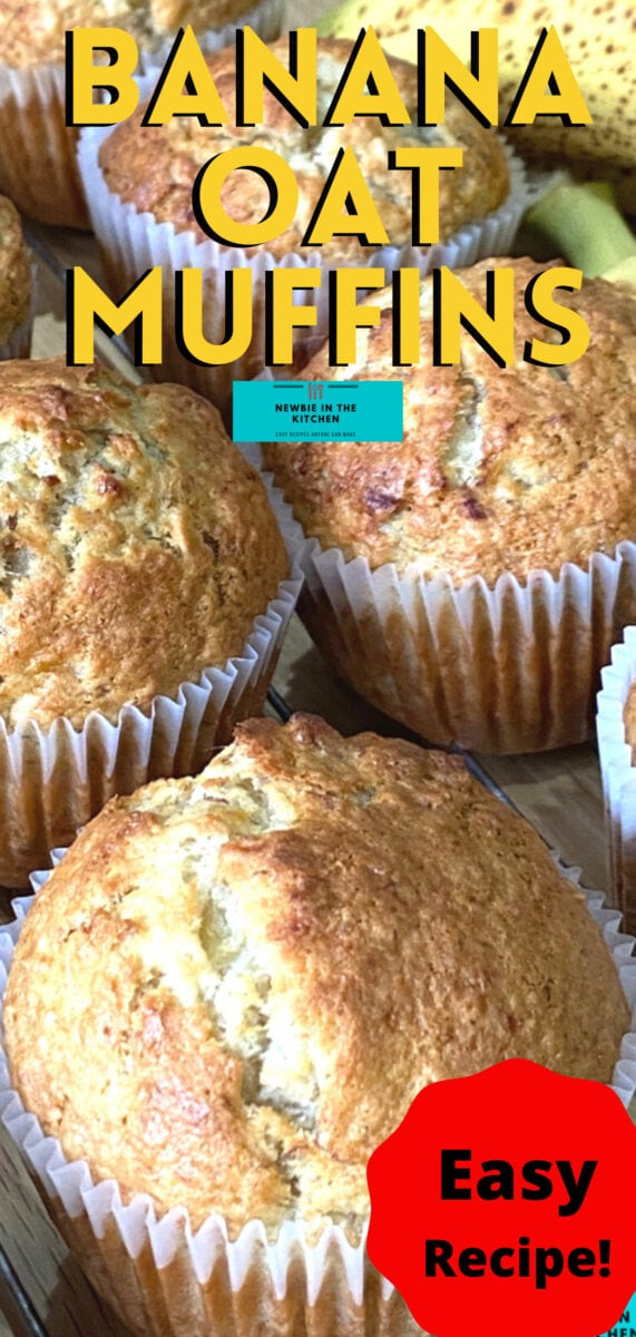 Banana Oatmeal Muffins. These muffins are moist, fruity, and extremely delicious. They are the perfect treat for breakfast, brunch, or afternoon tea. Packed with banana and drizzled with honey, a perfect snack