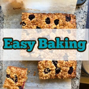 A selection of Easy Baking recipes, from cakes, desserts to sweet treats