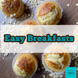 A selection of easy breakfast recipes for you to enjoy, using regular pantry ingredients