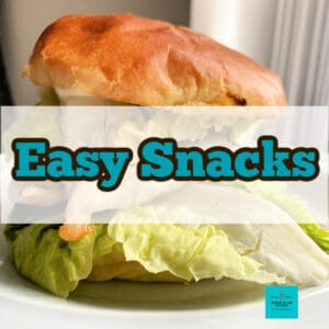 A selection of Easy Snack recipes