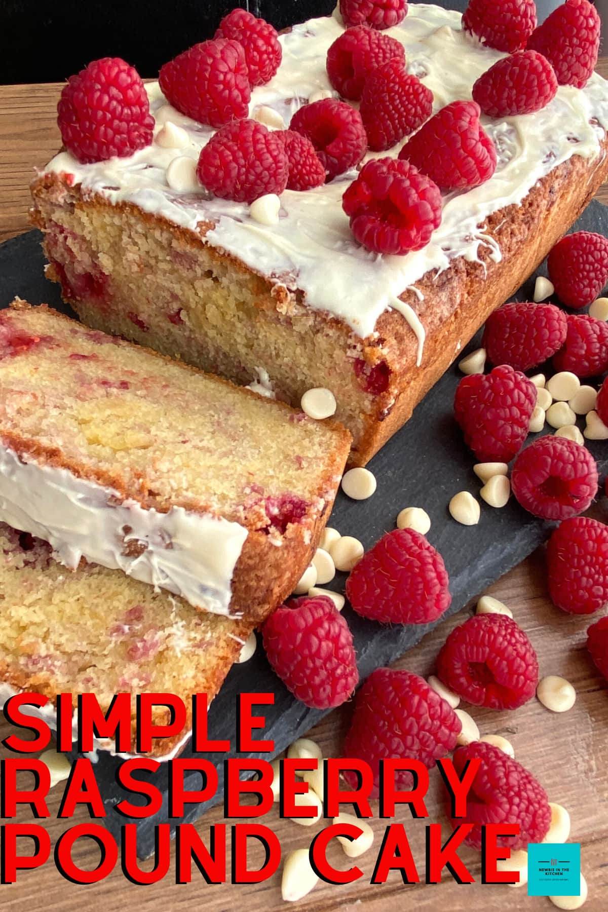Easy Raspberry Pound Cake. A delicious classic pound cake recipe bursting with fresh raspberries. Soft, moist and tangy sweet. Topped with a simple chocolate topping. Easy to follow instructions