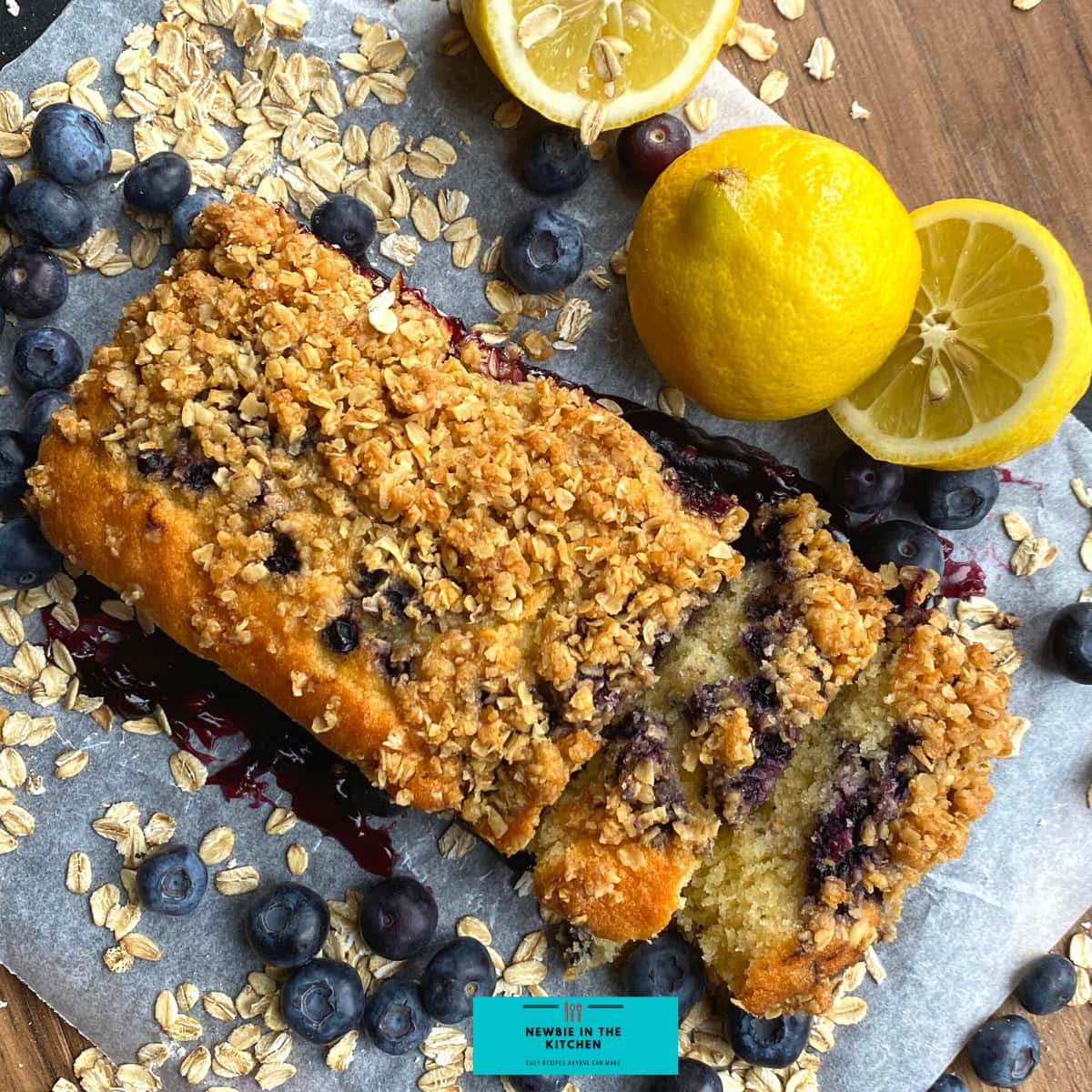 Easy Blueberry and Lemon Crumble Cake. Deliciously soft & moist cake packed with blueberries and a hint of lemon. Topped with a crumble topping. Easiest simple cake recipe ever!