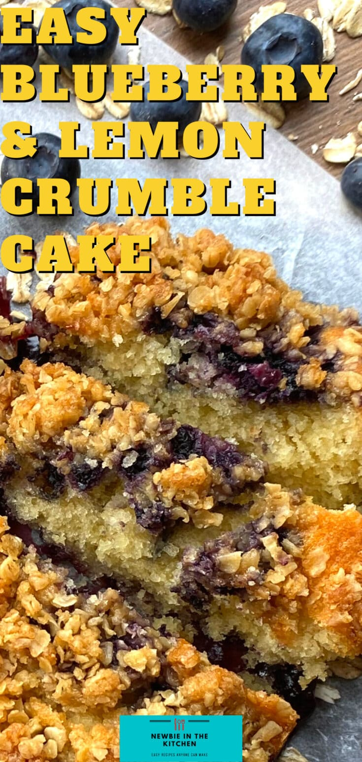 Easy Blueberry and Lemon Crumble CakeP3