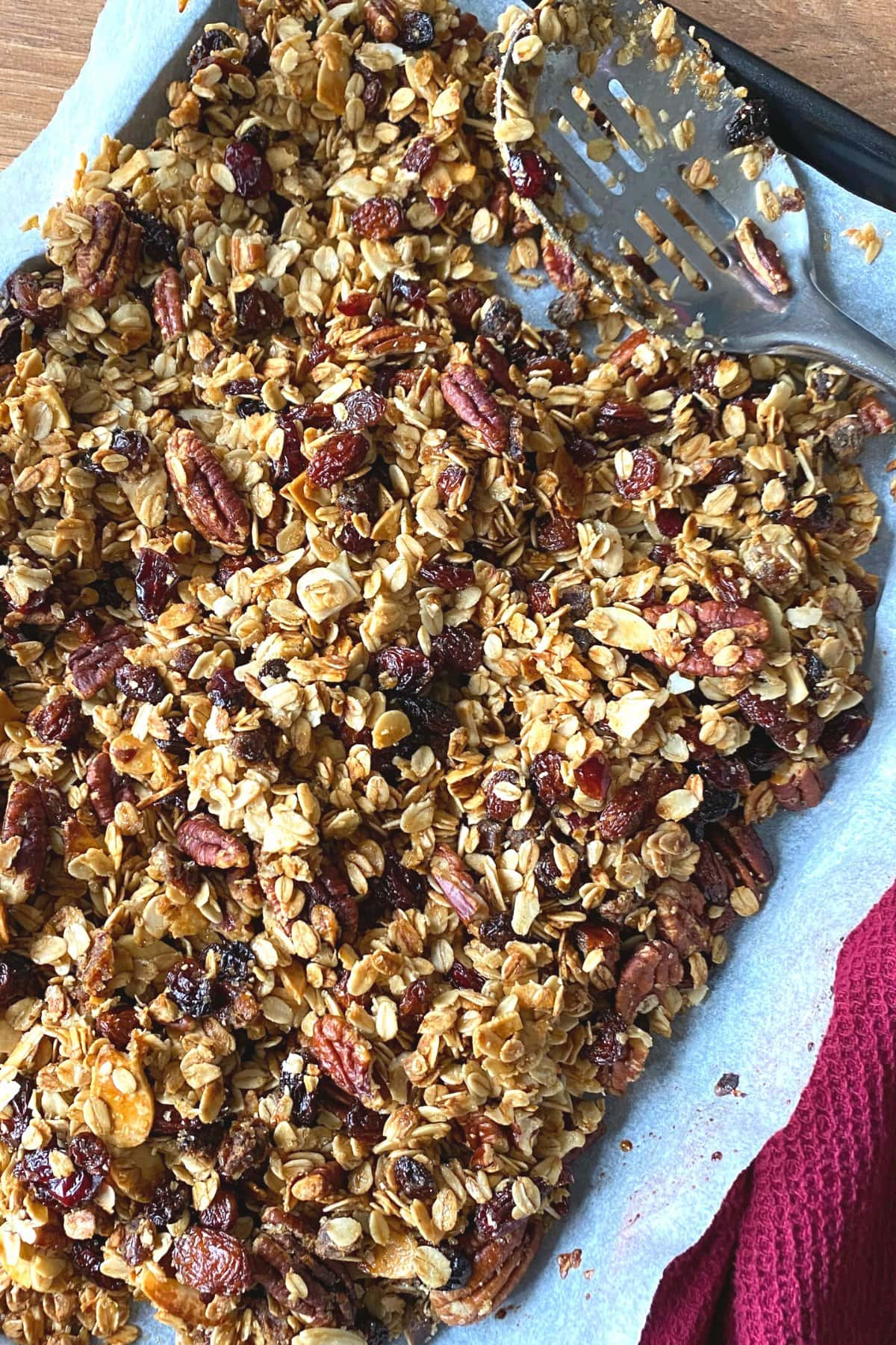 Granola baked