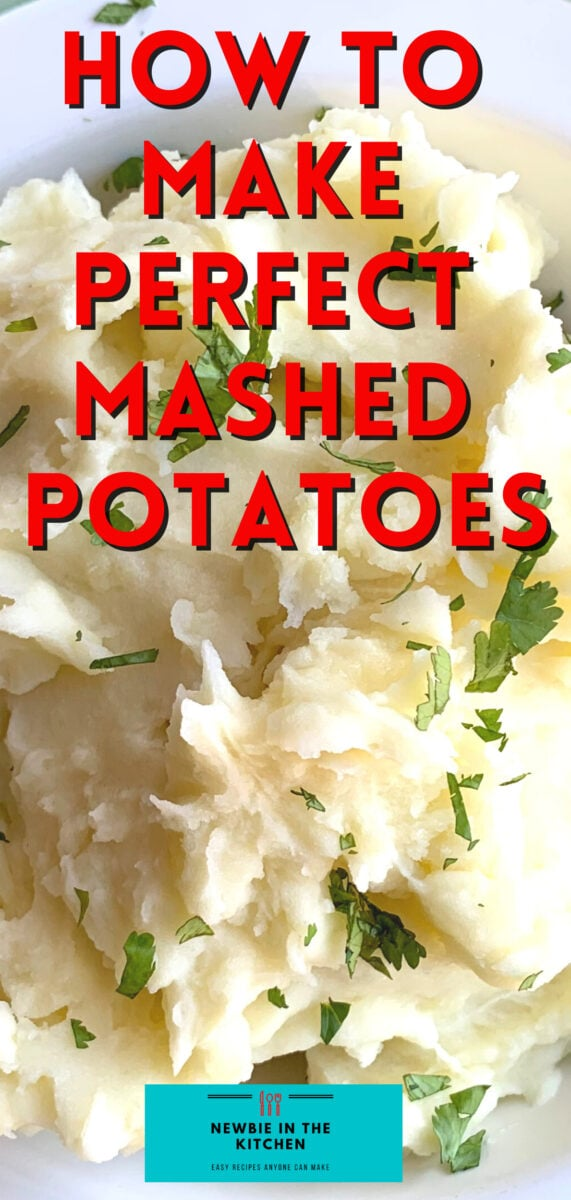 How To Make Perfect Mashed Potatoes. Learn how to make perfect creamy mashed potatoes, great tasting, fluffy, and so easy. Here's our simple homemade recipe.
