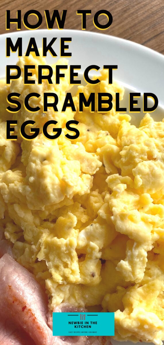 How To Make Perfect Scrambled Eggs. Learn how to make perfect scrambled eggs with this easy recipe, simple to make, taking just minutes. Fluffy, soft, and creamy, this makes for a quick breakfast or brunch
