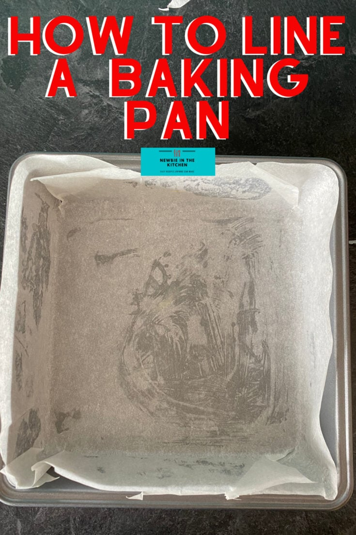 How to Line A Square Baking Pan With Parchment PaperH 1