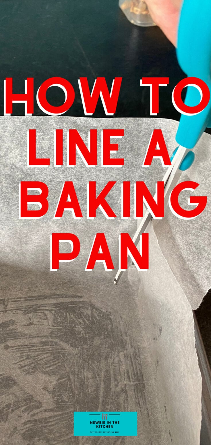 How to Line A Square Baking Pan With Parchment PaperP2 1