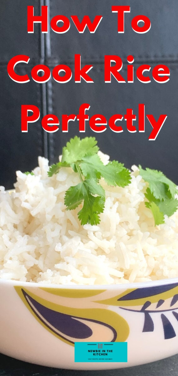 The Easy Way To Cook Rice Perfectly. Learn how to cook rice on the stove perfectly, giving you perfectly fluffy rice every time. Easy to follow recipe