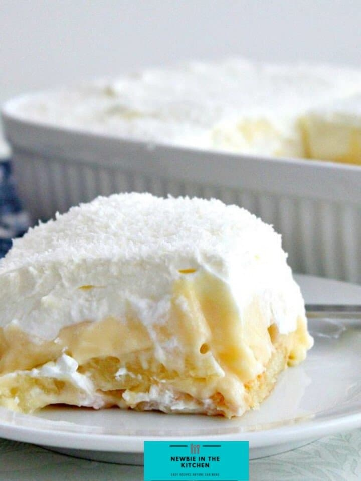 Easy Coconut and Pineapple DessertF